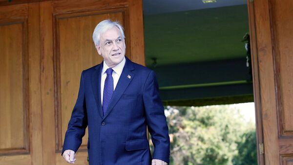 Sebastián Piñera, presidente electo de Chile - Sputnik Mundo