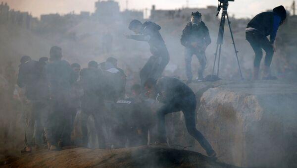 Protestas en Palestina - Sputnik Mundo