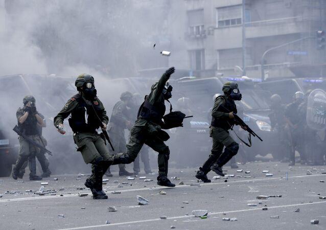Protestas en Argentina (archivo)