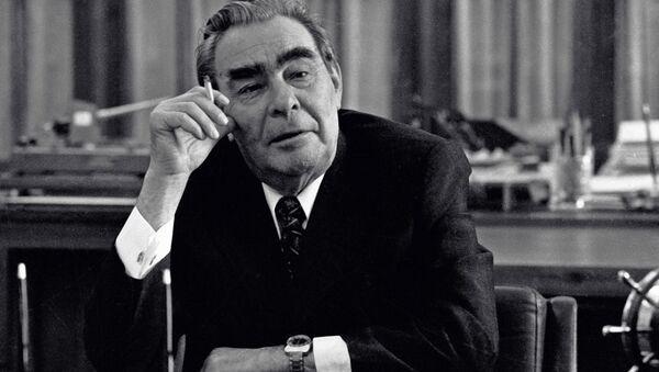 El secretario general del Partido Comunista de la URSS, Leonid Brézhnev - Sputnik Mundo