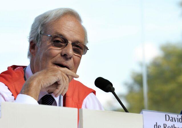 El vicepresidente del Rotschild Bank, David de Rothschild
