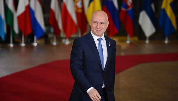 Pavel Filip, el primer ministro de Moldavia - Sputnik Mundo
