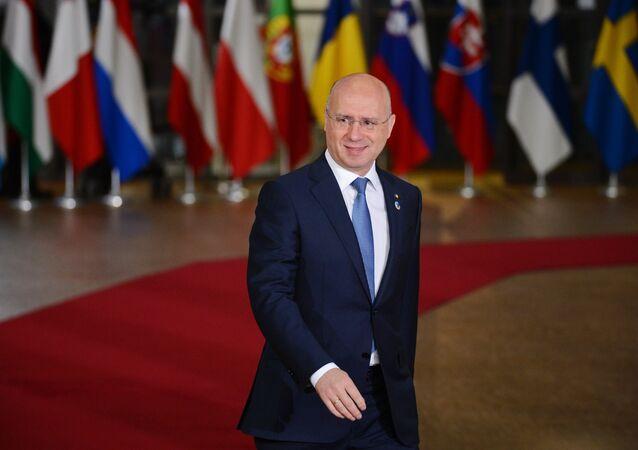 Pavel Filip, el primer ministro de Moldavia