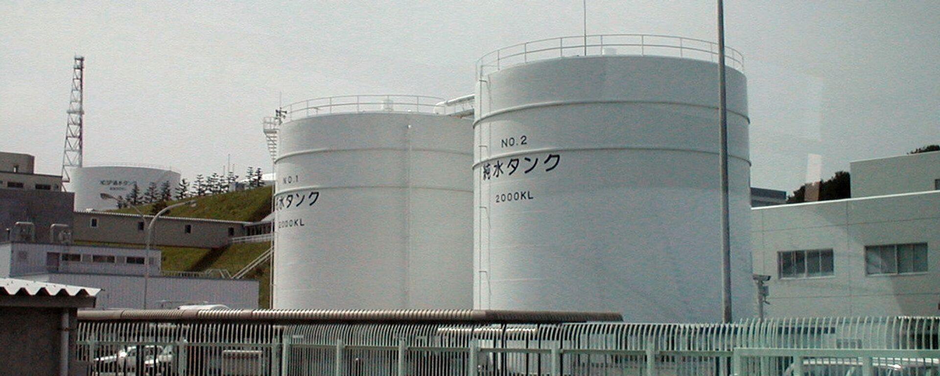 La planta japonesa de Fukushima. - Sputnik Mundo, 1920, 13.04.2021