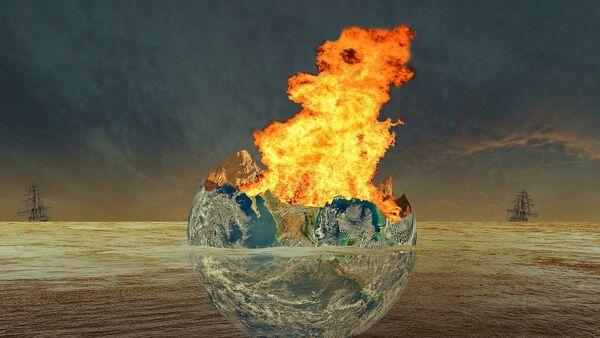 Tierra ardiendo - Sputnik Mundo