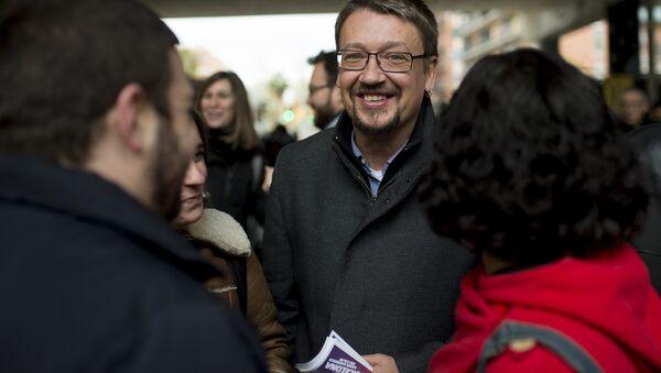 Xavier Domènech, líder de la Catalunya en Comú-Podem - Sputnik Mundo