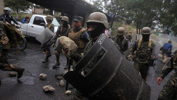 Disturbios en Honduras - Sputnik Mundo
