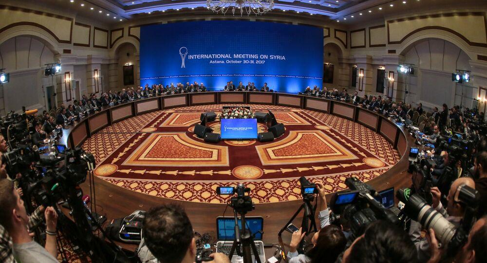 Las negociaciones en Astaná (archivo)