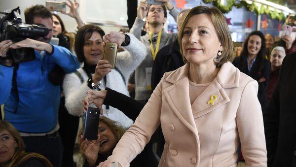 Carme Forcadell, expresidenta del Parlamento de Cataluña - Sputnik Mundo