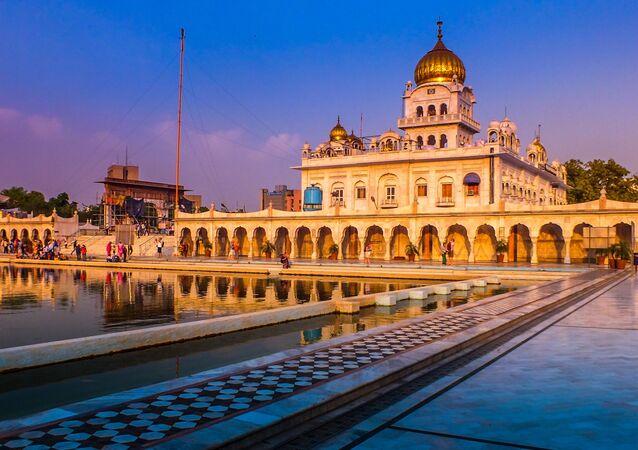 Nueva Delhi, la capital de la India