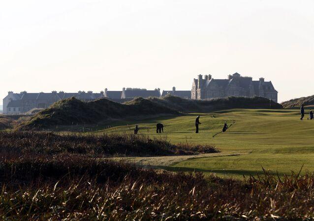 Campo de golf del presidente de EEUU, Donald Trump, en Doonbeg, en el oeste de Irlanda
