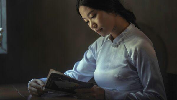 Una joven vietnamita, imagen referencial - Sputnik Mundo