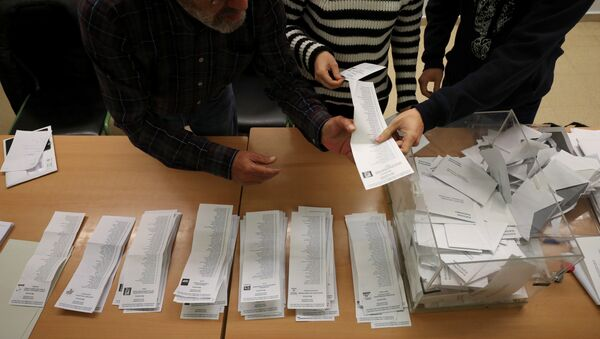 Elecciones del 21-D en Cataluña - Sputnik Mundo