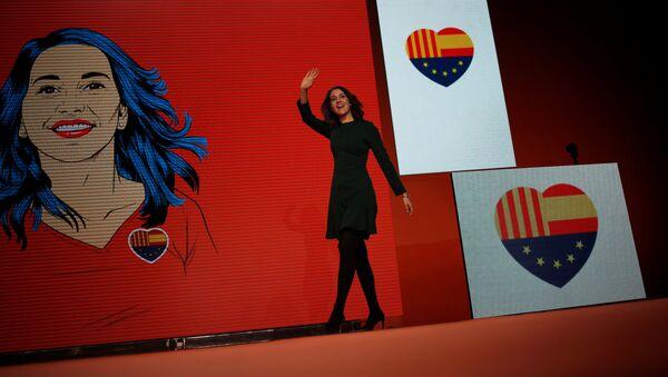 Inés Arrimadas, candidata de la formación liberal Ciudadanos para presidir la Generalitat de Cataluña - Sputnik Mundo