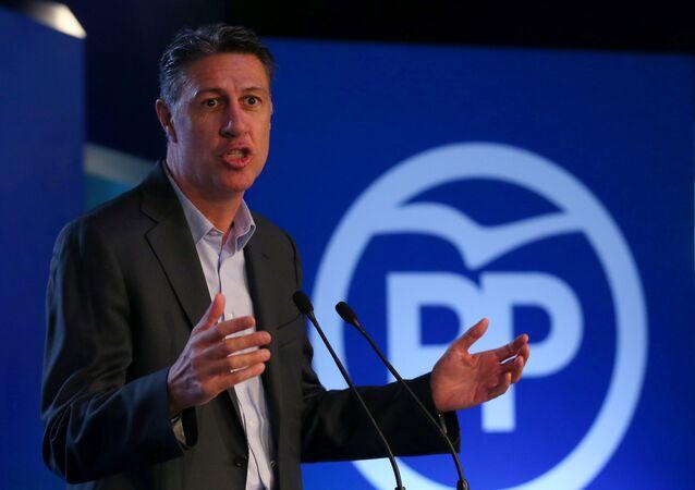 Xavier García Albiol, líder de los populares catalanes