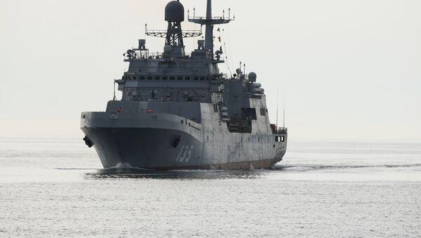 El novedoso buque de guerra Iván Gren - Sputnik Mundo