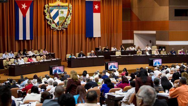 Asamblea Nacional de Cuba - Sputnik Mundo