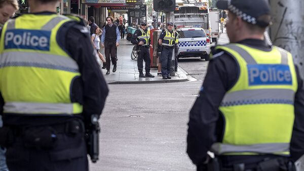 Policía de Melbourne, Australia - Sputnik Mundo