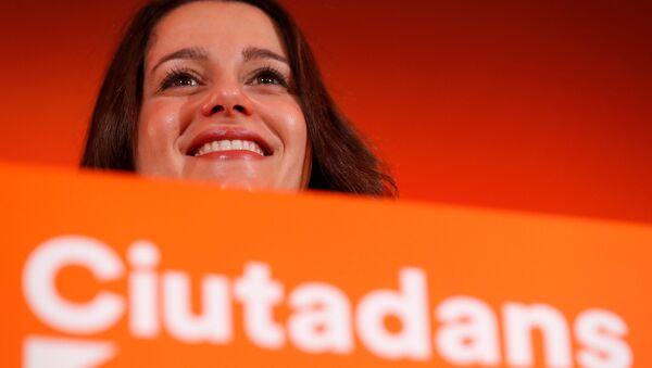 Inés Arrimadas, candidata del partido Ciudadanos - Sputnik Mundo