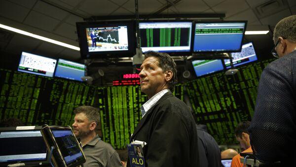 El estreno del bitcoin en la Bolsa de futuros de Chicago (archivo) - Sputnik Mundo