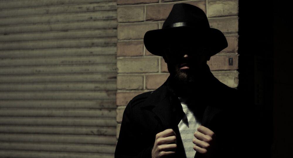 Un espía, imagen referencial