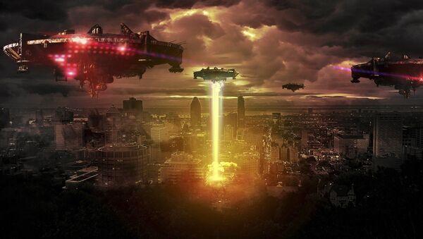Invasión extraterrestre (ilustración) - Sputnik Mundo