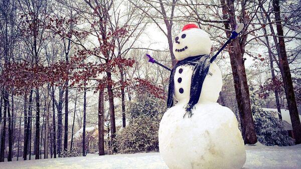 Un muñeco de nieve (archivo) - Sputnik Mundo