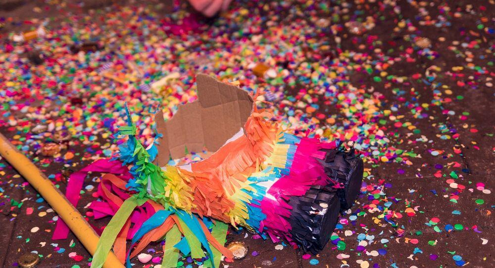 Una piñata (imagen referencial)