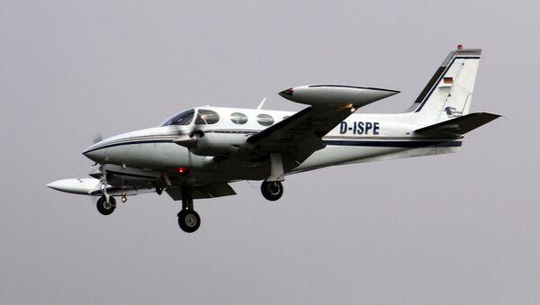 Una aeronave Cessna 340 (archivo) - Sputnik Mundo