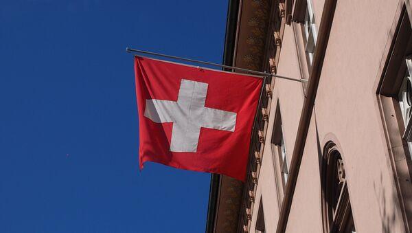 Bandera de Suiza - Sputnik Mundo