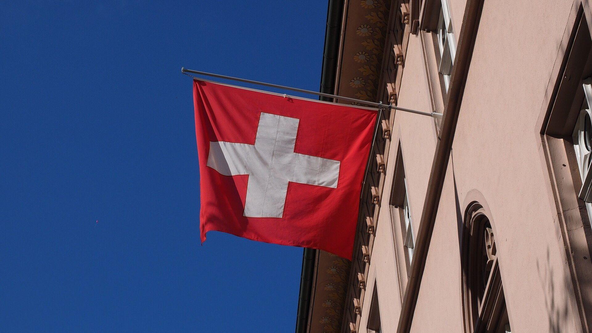Bandera de Suiza - Sputnik Mundo, 1920, 11.08.2021