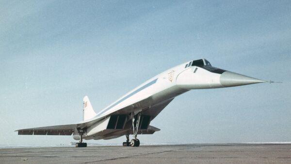 Tu-144, avión de pasajeros supersónico - Sputnik Mundo