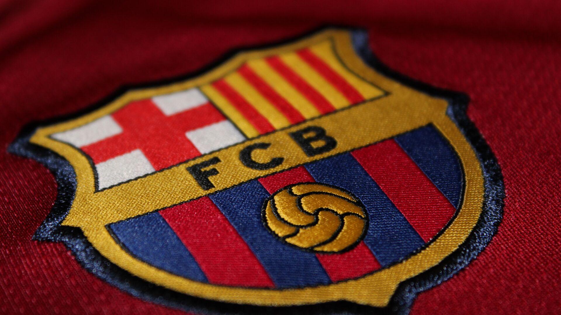 Logo de FC Barcelona - Sputnik Mundo, 1920, 15.01.2021