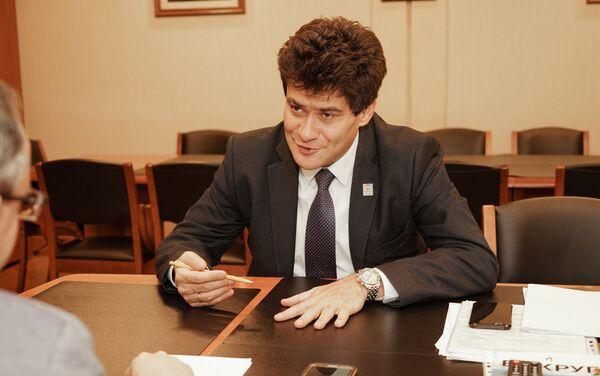 Alexandr Visokinski, vicegobernador de la región de Sverdlovsk - Sputnik Mundo
