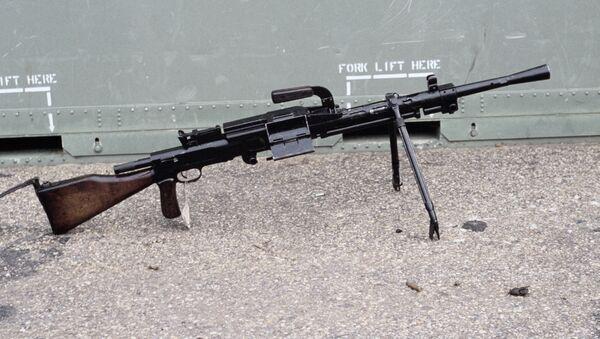 Ametralladora soviética de 7,62 mm RP-46 (archivo) - Sputnik Mundo