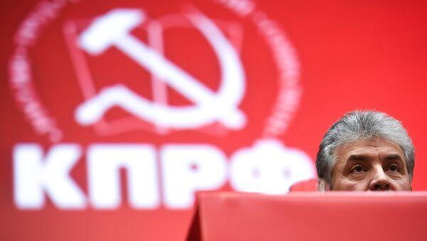 Pável Grudinin,el candidato del Partido Comunista ruso para las elecciones presidenciales de 2018 - Sputnik Mundo