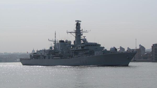 La fragata británica St Albans - Sputnik Mundo
