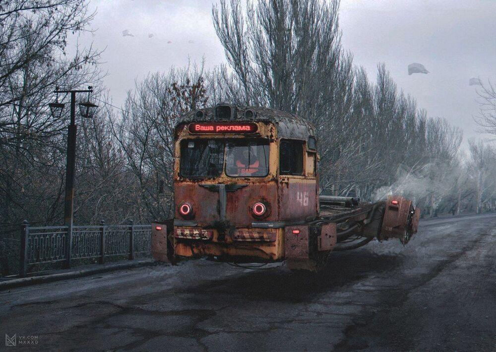 La Rusia del año 2046: granjas de bitcoin y tranvías flotantes