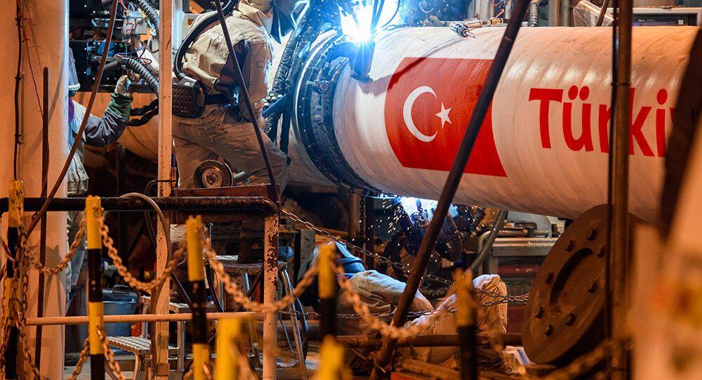 La construcción del gasoducto Turk Stream