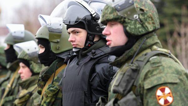 Guardia Nacional de Rusia (imagen referencial) - Sputnik Mundo