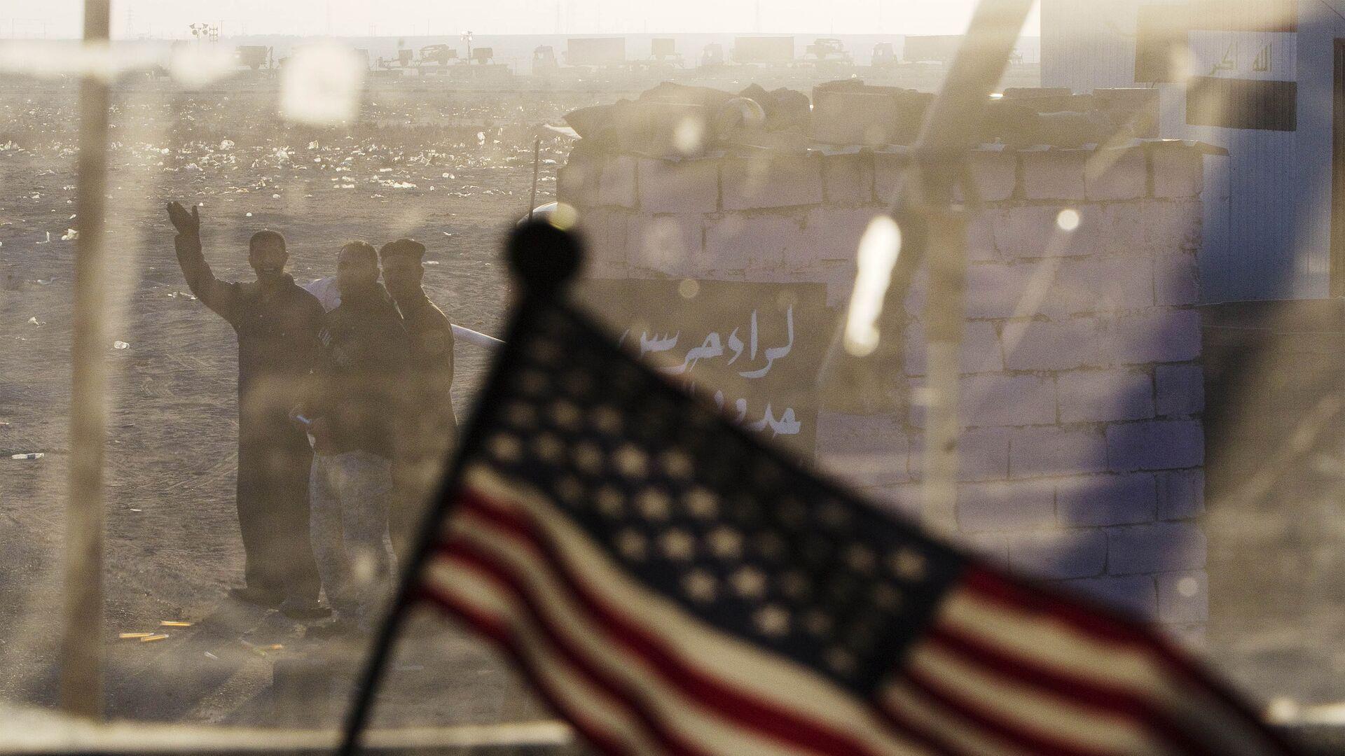 La bandera de EEUU en Irak (archivo) - Sputnik Mundo, 1920, 09.03.2021