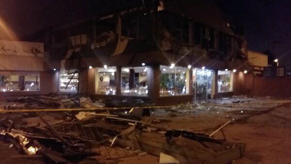 Explosión de restaurante en Quito - Sputnik Mundo