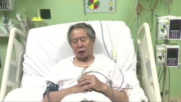 Alberto Fujimori, el expresidente peruano (Archivo) - Sputnik Mundo