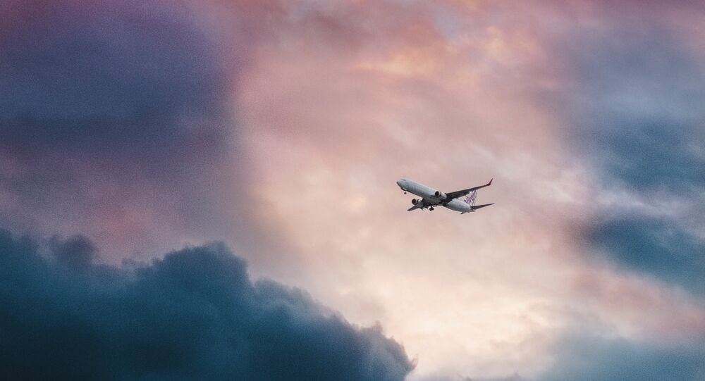 Un avión en el cielo (imagen referencial)