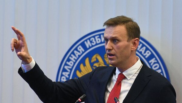 Alexéi Navalni, el opositor ruso - Sputnik Mundo