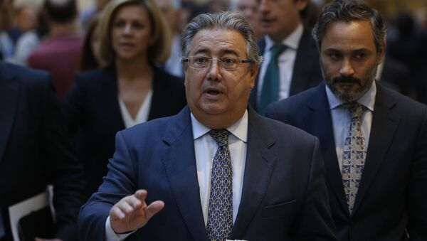 Juan Ignacio Zoido, el ministro del Interior español - Sputnik Mundo
