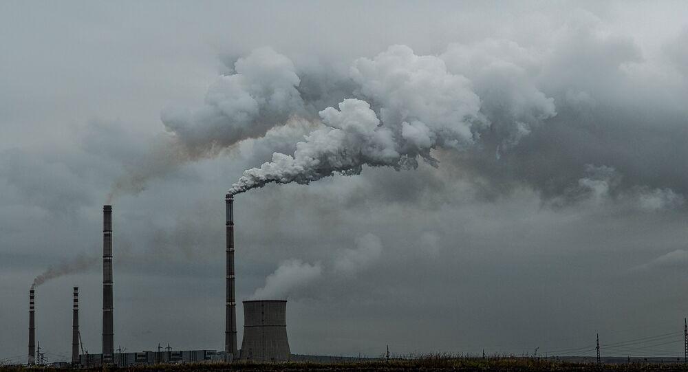 Contaminación del aire (imagen referencial)