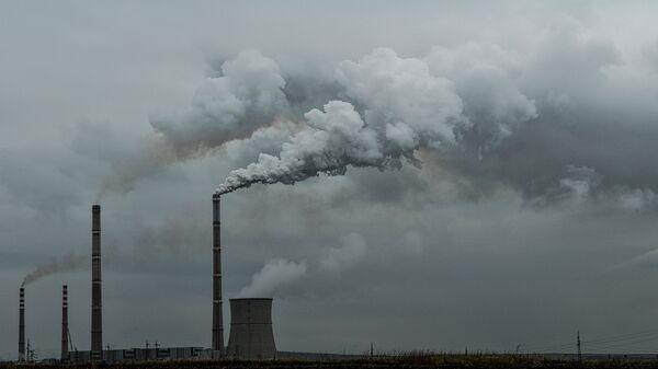 Contaminación del aire (imagen referencial) - Sputnik Mundo
