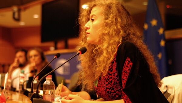 Ahed Tamimi, activista palestina - Sputnik Mundo