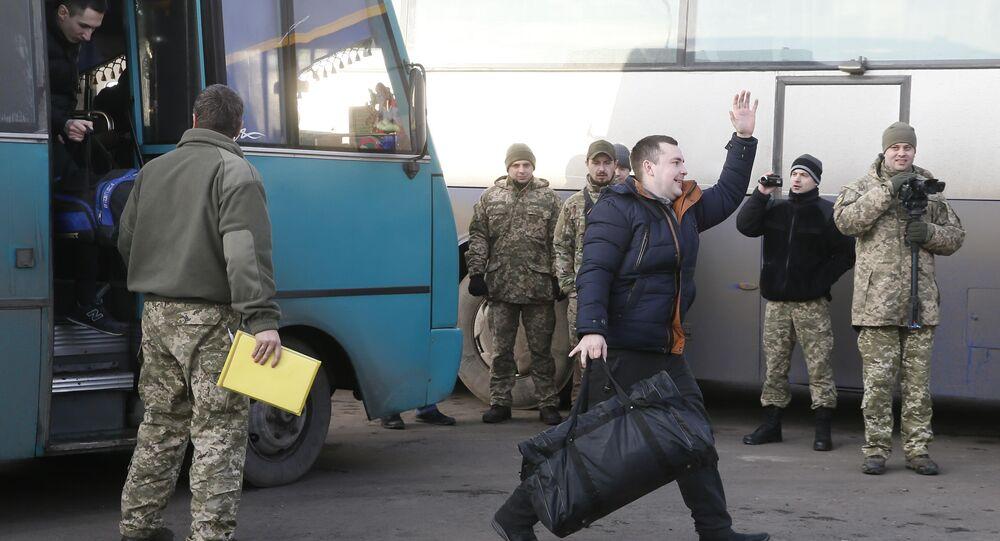 Canje de prisioneros en Donbás